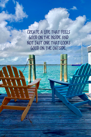 Create a Life Inspirational Art