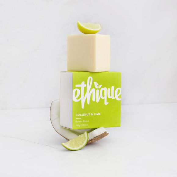 Ethique Coconut & Lime Body Butter Block