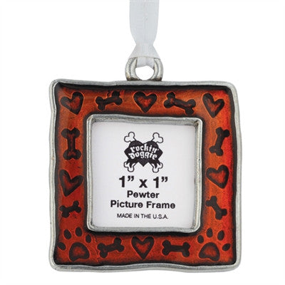 Rockin Doggie Bone/Heart/Paw Christmas Ornament