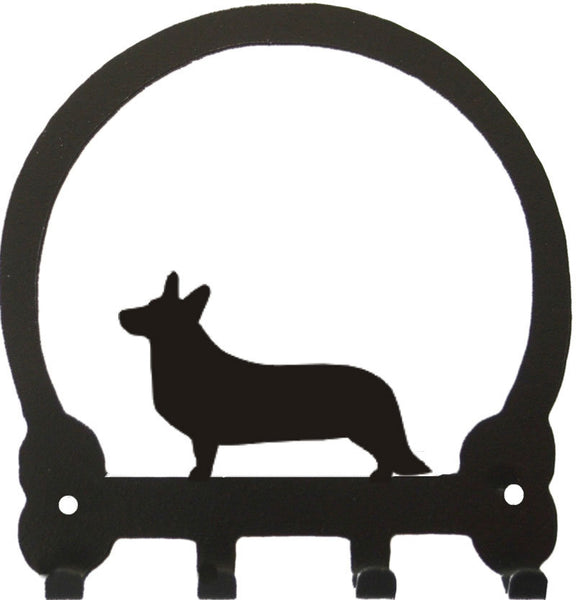 Sweeney Ridge Corgi Cardigan Key Rack
