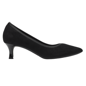 Women's Rockport TM Kaiya Pump/ Black Suede Pump