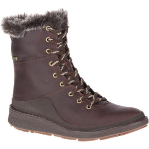 Women's Merrell Tremblant Ezra Ice+/ Espresso Winter Boot