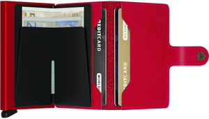 Secrid Miniwallet/ Red-Red