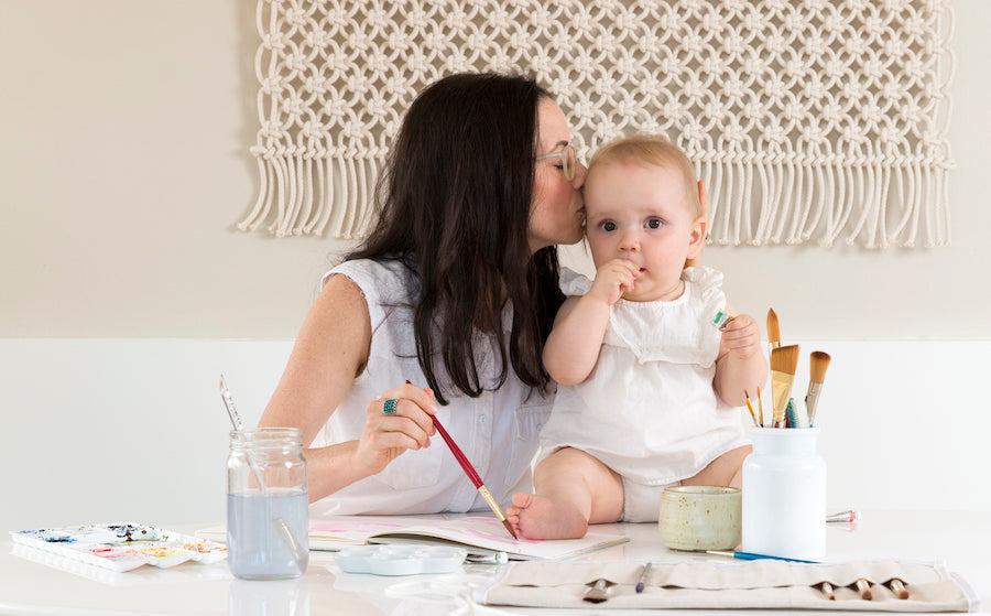 Kelly Colchin + The Art of Motherhood