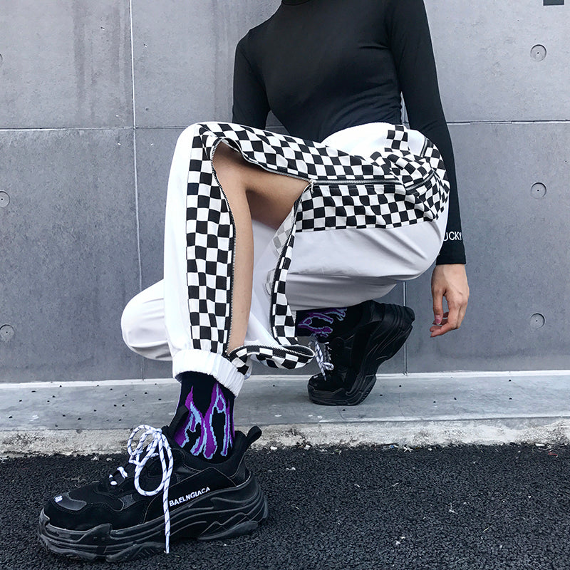 """CHECKERS"" PANTS W030501"
