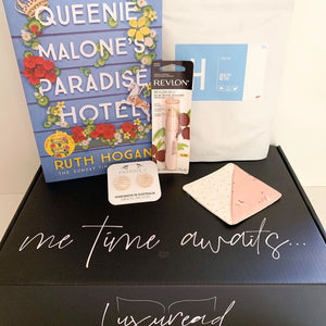 Fiction Gift Box | Queenie Malone's Paradise Hotel, by Ruth Hogan | Option 2