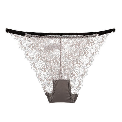 Soft Floral Lace Cheeky Brief