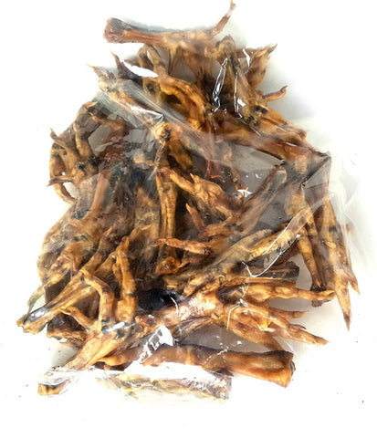 100% Natural & Organic Smoked Dehydrated Chicken Feet