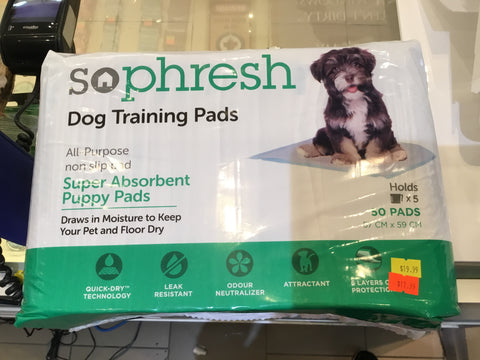 Sophresh Dog Training Pads