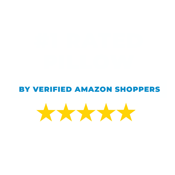 #1 rated memory foam pillow on Amazon