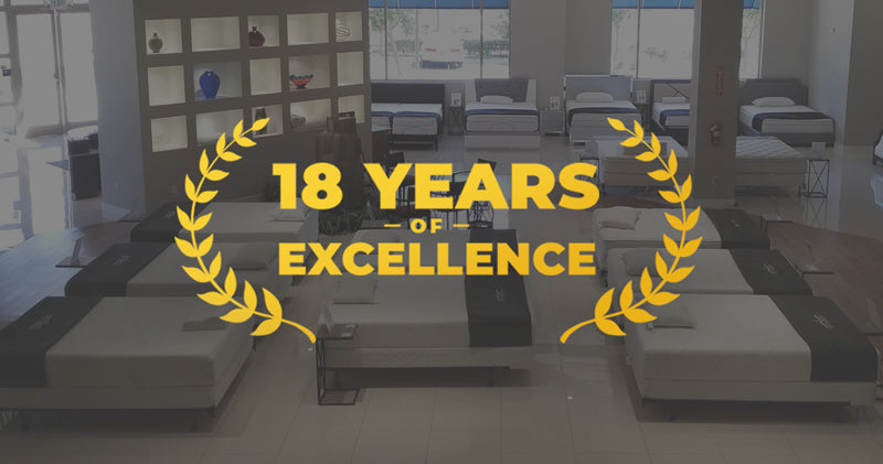 Snuggle-Pedic, 18 years of excellence, mattress and pillows