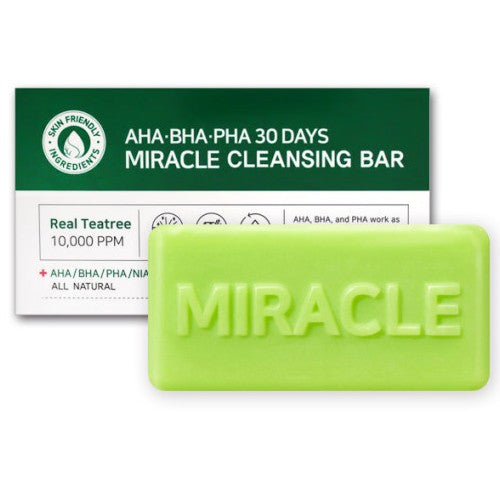 [SOME BY MI] AHA BHA PHA 30DAYS Miracle Cleansing Bar, 105g - beautique-online