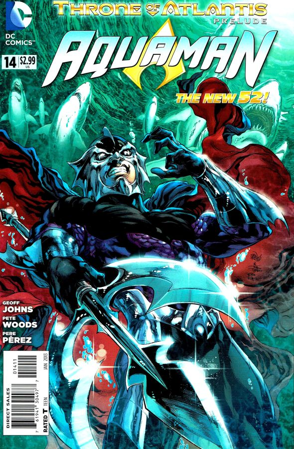 Aquaman (The New 52) #14