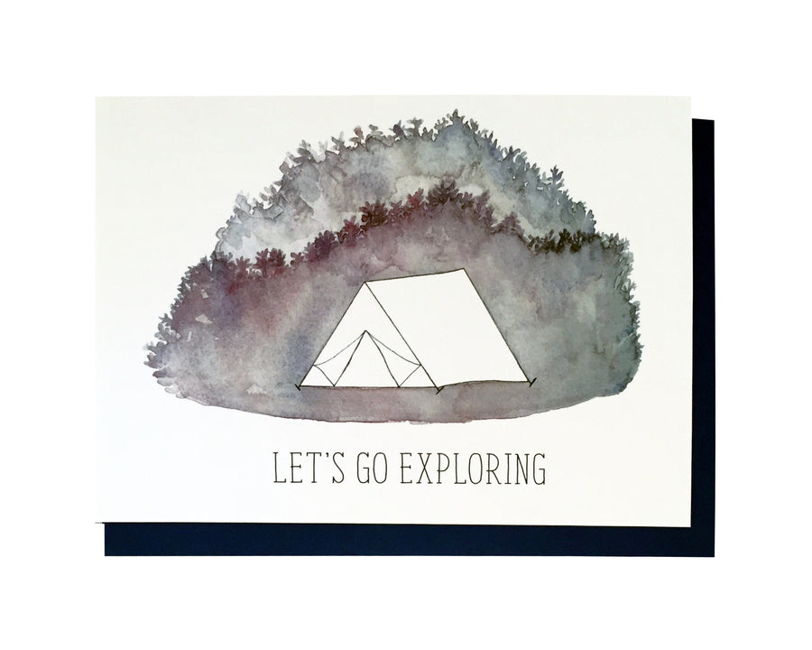 Lets Go Exploring Card