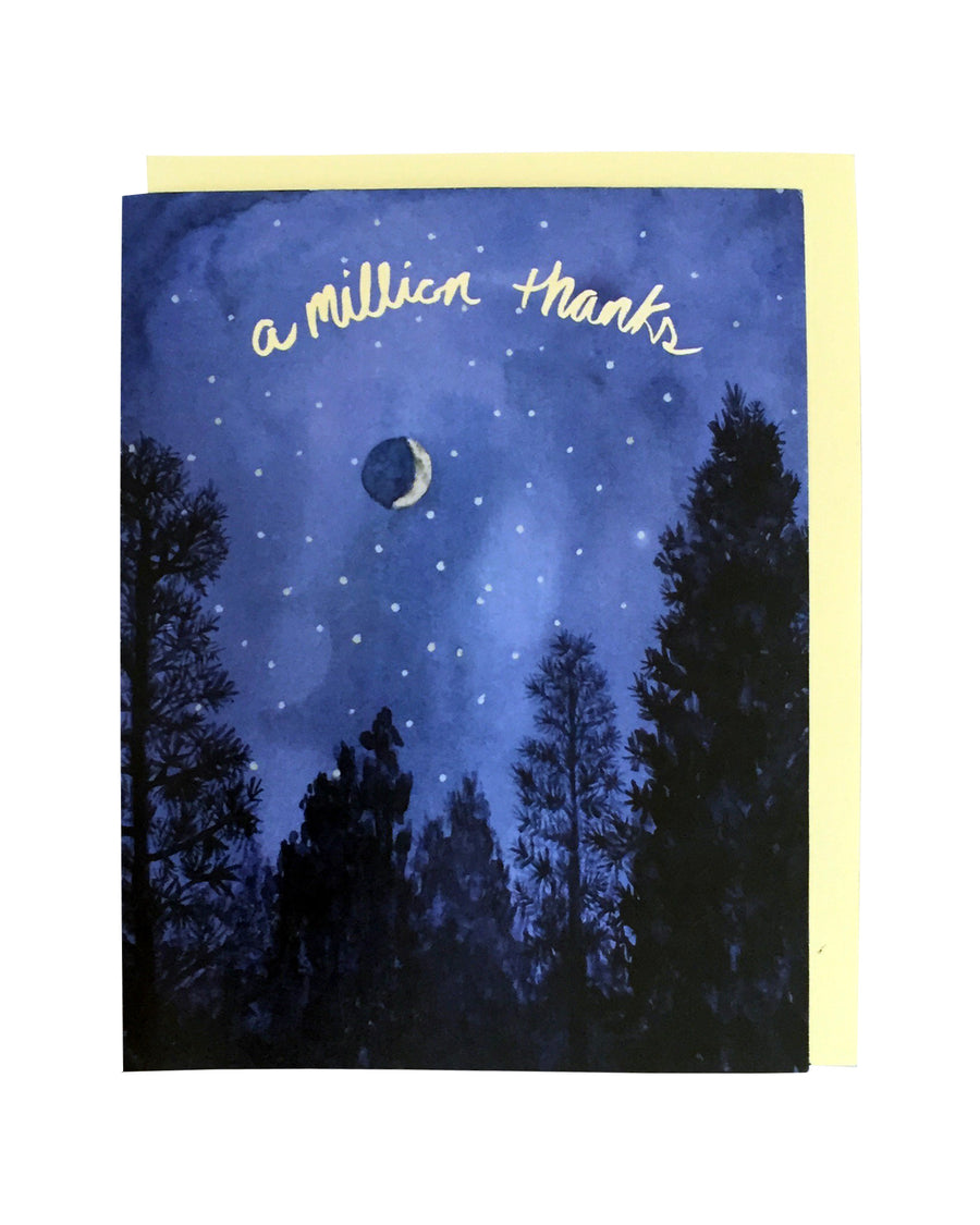 A Million Thanks Card