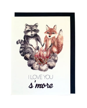 I Love You S'more Card