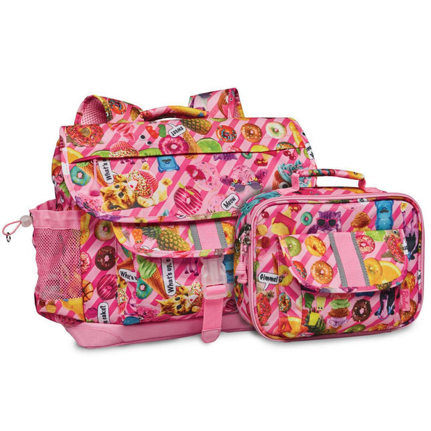 """Funtastical"" Backpack & Lunchbox Bundle - Medium - Bixbee"