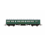 Hornby OO SR 58ft Maunsell Rebuilt (Ex-LSWR 48ft) Six Compartment Composite Brake Coach SR Green