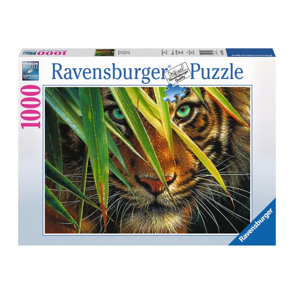 Ravensburger Mysterious Tiger Puzzle 1000pc