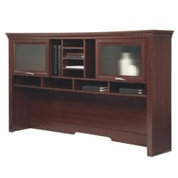 "Realspace Outlet Magellan Performance Collection Hutch, 40 1/2""H x 70 9/10""W x 12 9/10""D, Cherry"