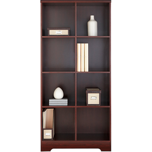 "Realspace Magellan 8-Cube Bookcase, 63 3/8""H x 30 1/8""W x 15 5/8""D, Classic Cherry"