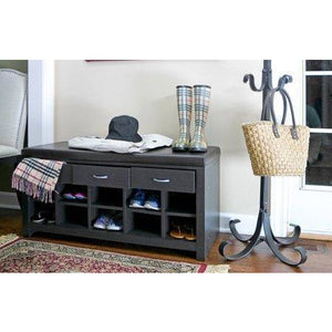 Baxton Studio Espresso Entryway Bench