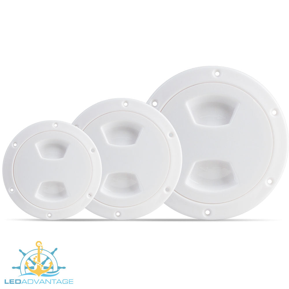 Standard Inspection Ports - White (Available in 4