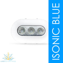 Load image into Gallery viewer, 12v/24v 9 Watt White Polymer Under Water LED Light (Blue LED)