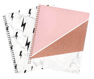 Lauren and Johnny 2 pack notebook