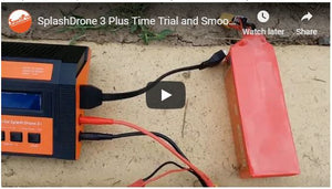 Splash Drone 3 Plus Time Trial and Some Smooth Functions