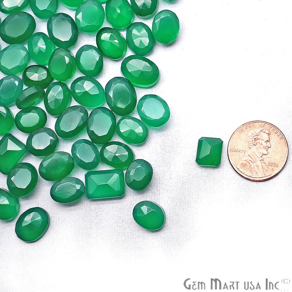 Wholesale Green Onyx Mix Shape Loose Gemstones (Pick Your Carat)