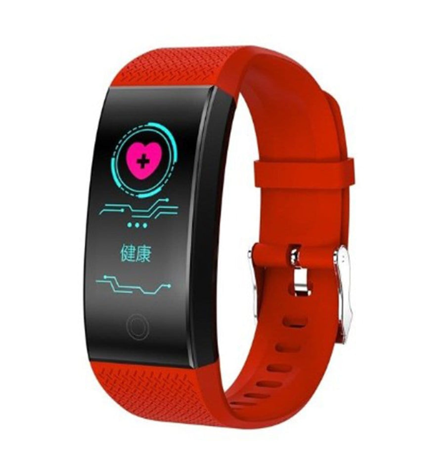 Smart Bracelet Fitness Tracker Pedometer Bluetooth Heart Rate Blood Pressure Sensor Life Waterproof Smart Watch