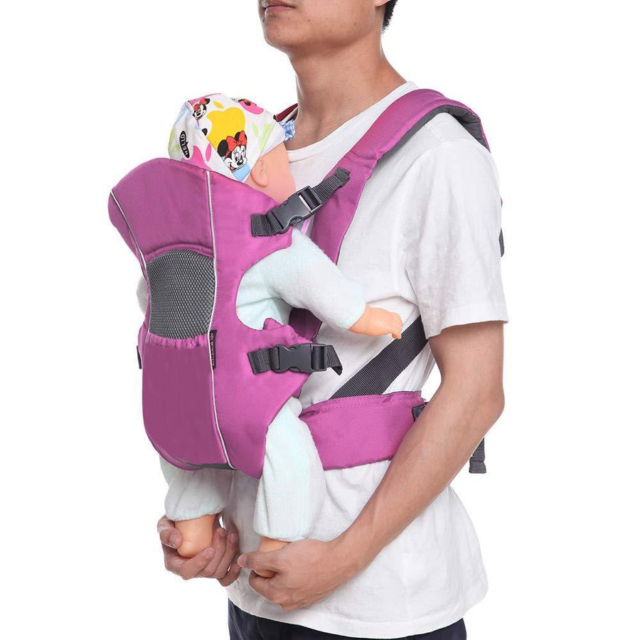 Adjustable Soft Breathable Baby Carrier Backpacks