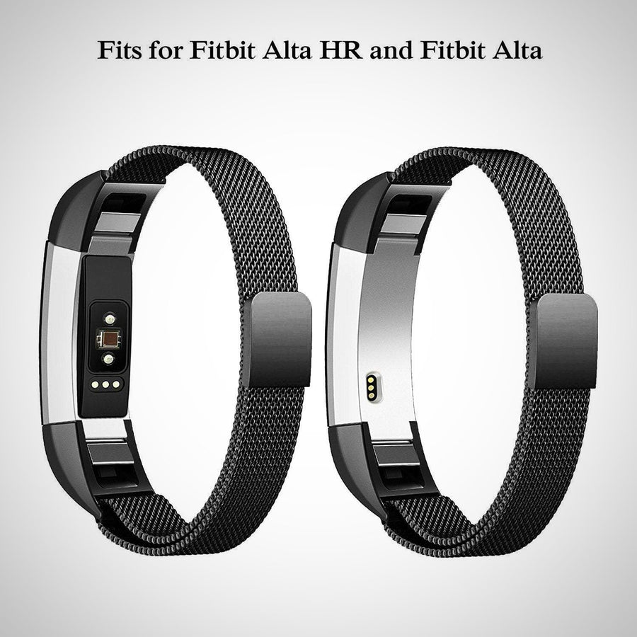 Fitbit Alta / Alta HR Magnetic Milanese Stainless Steel Watch Band Strap