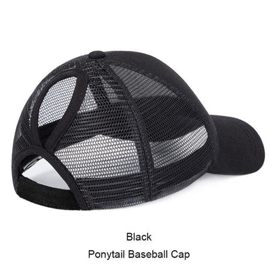 Summer Mesh Ponytail Baseball Caps For Women - The Happy Tourist LTD