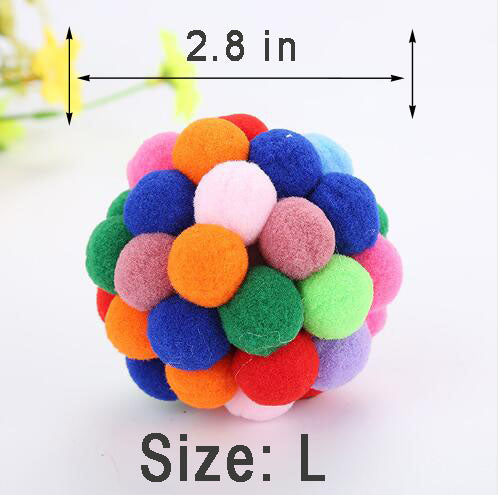 Colorful Handmade Bouncy Ball