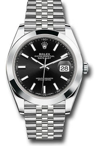 Rolex Stainless Steel Datejust 41mm #126300 bkij