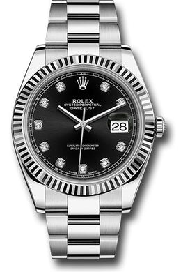 Rolex Steel 18k WG Datejust 41mm #126334 bkdo