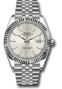 Rolex Steel 18k WG Datejust 41mm #126334 sij