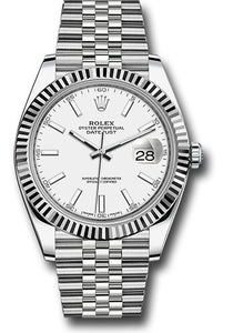 Rolex Steel 18k WG Datejust 41mm #126334 wij