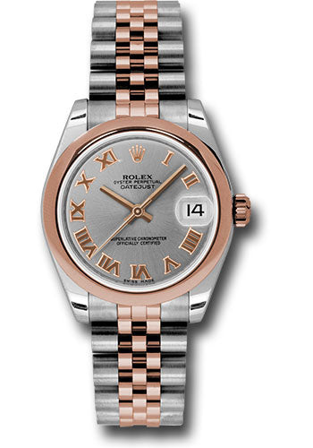 Rolex Steel and RG Datejust - 31mm - Mid-Size #178241 grj
