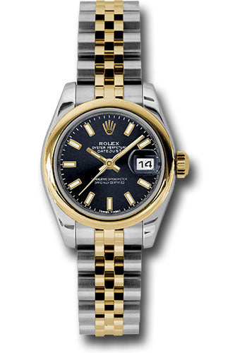 Rolex Steel and 18k YG Datejust -26mm #179163 bksj