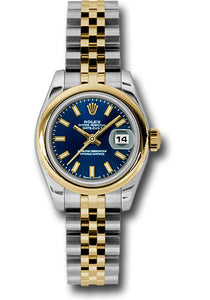 Rolex Steel and 18k YG Datejust -26mm #179163 blsj