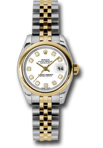 Rolex Steel and 18k YG Datejust -26mm #179163 wdj