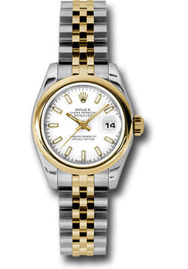 Rolex Steel and 18k YG Datejust -26mm #179163 wsj
