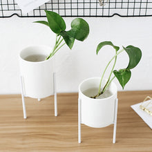 Load image into Gallery viewer, CERAMIC FLOWER POT STAND