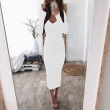 Load image into Gallery viewer, KEEP IN TOUCH MAXI BODYCON DRESS