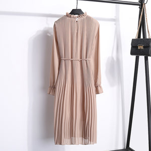 TWO LAYER CHIFFON DRESS