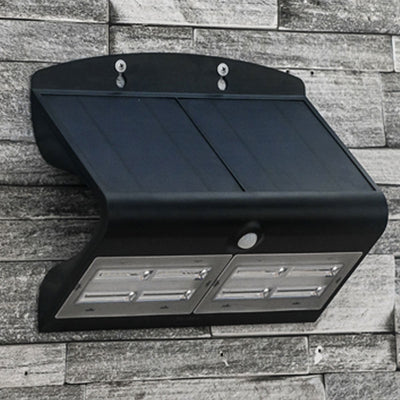 Black 6.8 Watt Solar LED Motion Sensor Security Light MP68SLEDB
