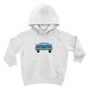 Blue Impala Front Kids Hoodie